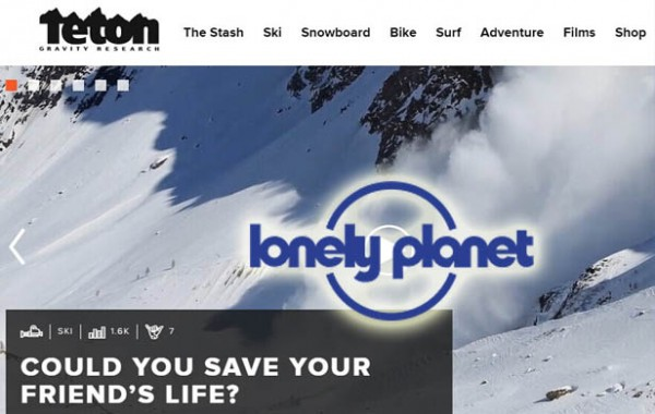 孤独星球:战略投资极限运动媒体公司Teton
