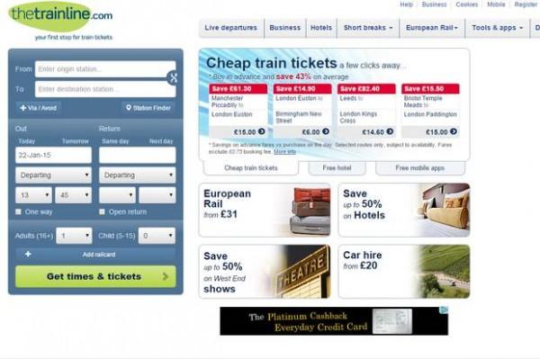 Thetrainline:铁路票务零售商被美国KKR收购