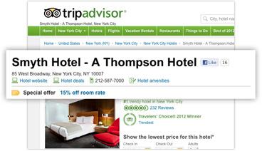 TripAdvisor:改商户列表模式 影响酒店成本