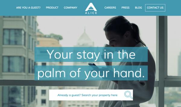 ALICE:酒店礼宾管家获得300万美金投资