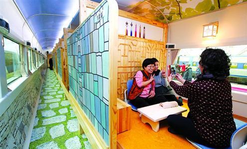 韩国:推出观光暖炕列车,移动旅游目的地