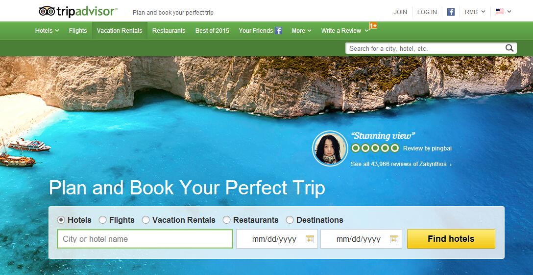 分析:TripAdvisor上游客到底需要何种点评