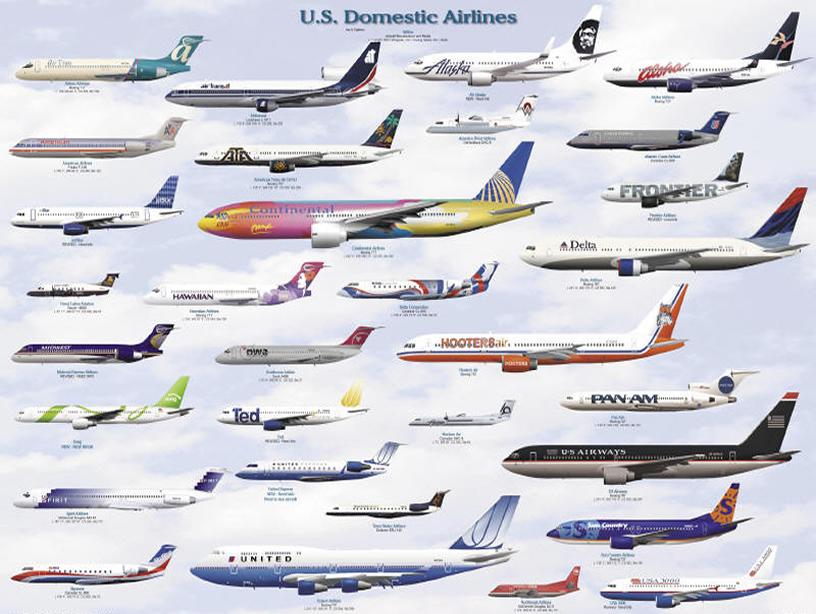 解读:美国2014年航空旅客8.48亿各项之最