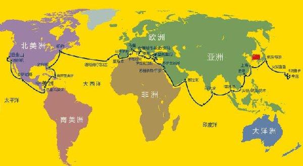歌诗达邮轮:环游世界86天 中国母港焕新天