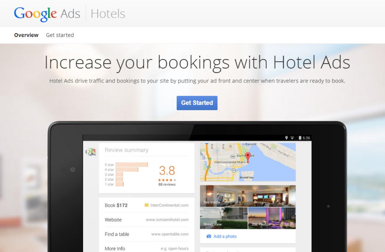 谷歌:Hotel Ads促进直接预订 提升转化率