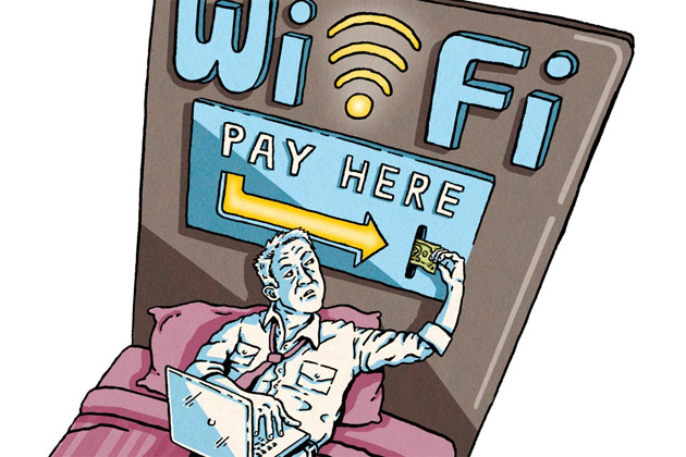 酒店Wi-Fi:市场成熟按带宽分级收费成主流