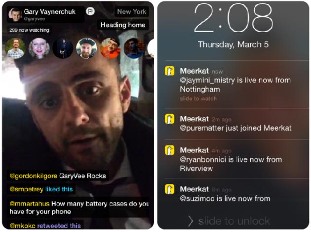 Meerkat:借推特台 流媒体播报App再受热捧