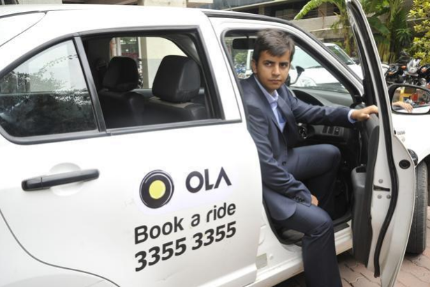 Ola Cabs:印度打车App将获4亿美元融资