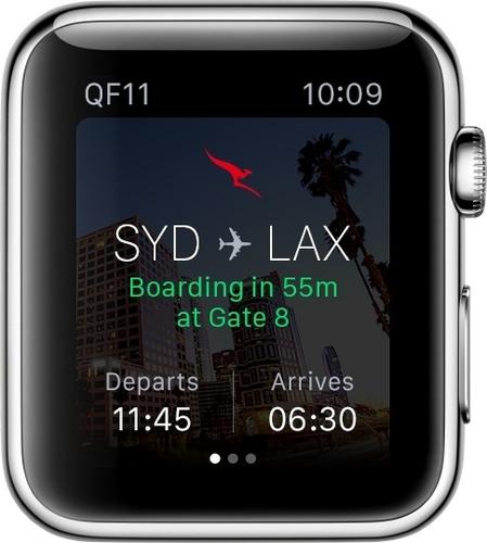 澳洲航空:推出苹果手表App 提示航班信息