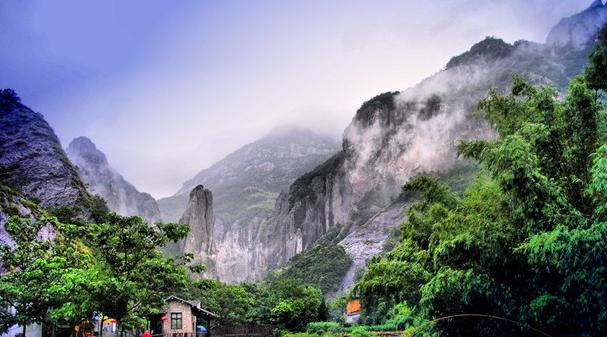 雁荡山:四大文化旅游项目签订 总投资32亿