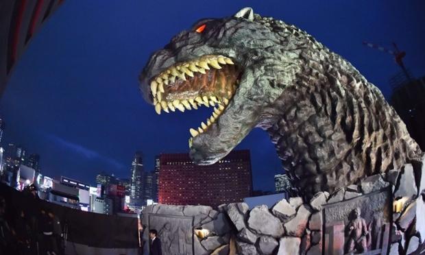 东京:哥斯拉摇变旅游大使 电影旅游再大热