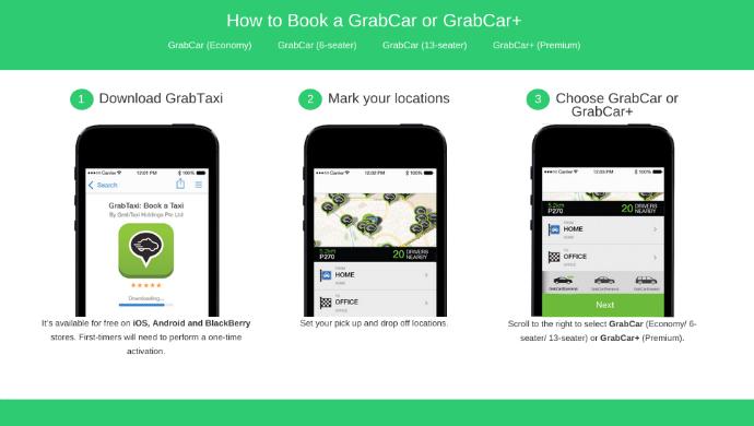 GrabTaxi:增加新功能 挑战UberX低价服务