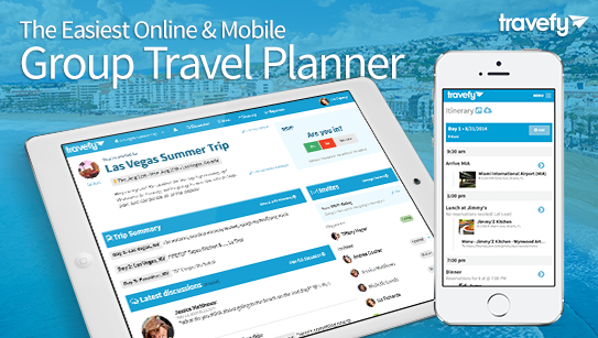 Travefy:团体旅游计划网站融资180万美元