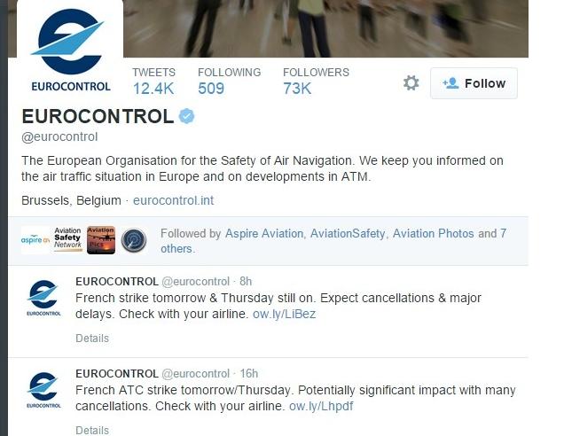 法国:空管罢工在即 欧洲航班或受严重影响