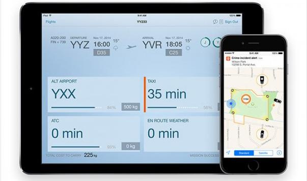 苹果:与IBM合作推出旅游交通等8款新应用