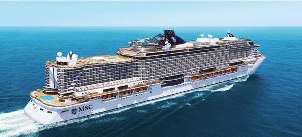 Fincantieri:最大邮轮MSC Seaside开工建造