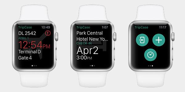 Sabre:推适用于苹果手表的旅游管理APP版