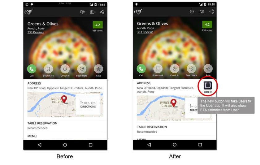 Uber:拟2亿美元投资印度外卖巨头Zomato