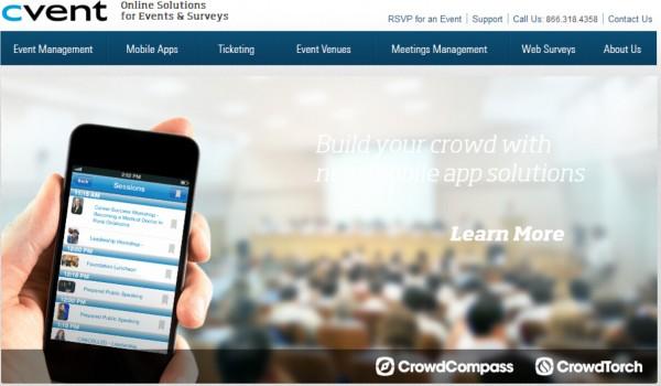 Cvent:2240万收购会议策划软件商SignUp4