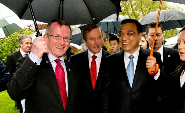 爱尔兰:借李克强总理到访 拓中国旅游市场