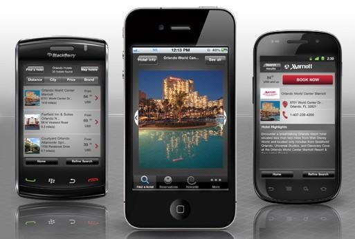 万豪:移动App新功能 用短信完成礼宾任务