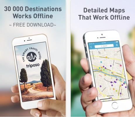Triposo:个性化旅游建议App 推出预订功能