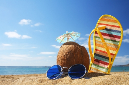 信息图:经济不影响美国夏季游 海滩受欢迎