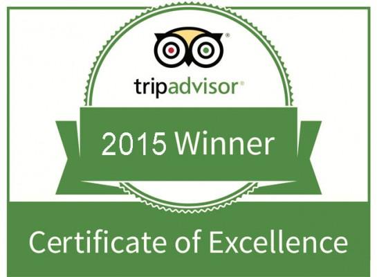 TripAdvisor:2015卓越奖榜单中国入选增13%