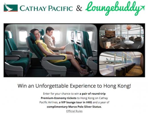 国泰航空:联手LoungeBuddy 推iBeacon体验