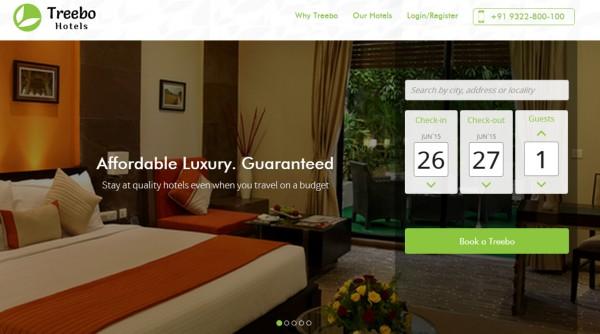 Treebo:印度旅游初创首轮融资获600万美元