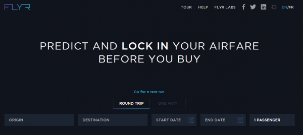 Flyr:推价格锁定功能 确保机票价格有效性
