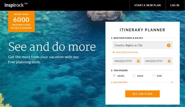 Inspirock:旅游路线规划网站获300万投资