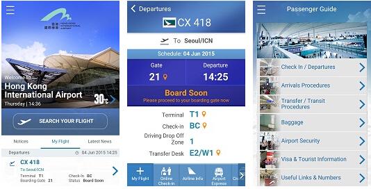 香港机场:一体化移动应用 改善机场体验