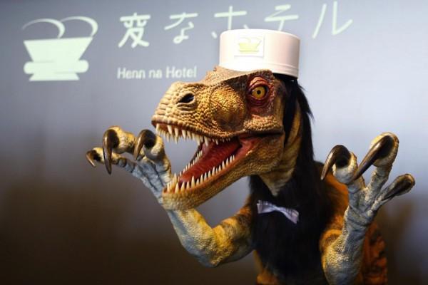 多图解读:日本全机器人酒店Henn na Hotel