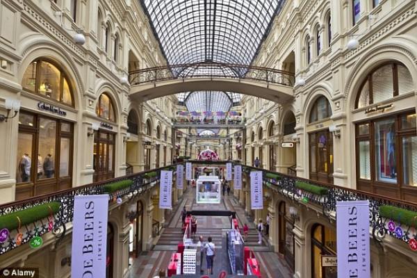 莫斯科:零售空间欧洲居首,成新时尚之都