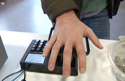 餐饮业:掌纹支付 移动打印,科技改变生活