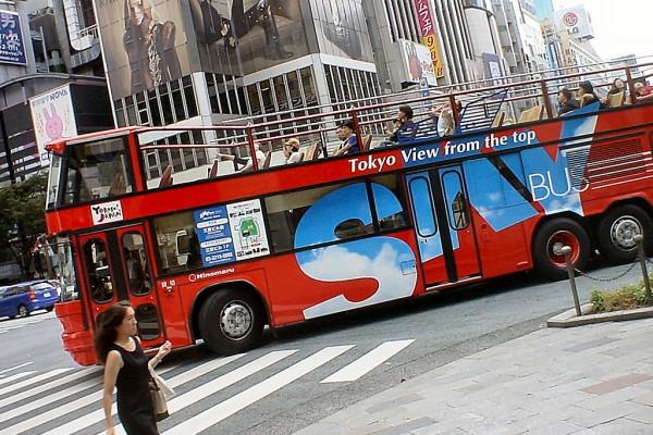 日本:中国游客激增致观光巴士厂商现转机