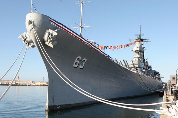 黑色旅游:密苏里号战舰纪念馆 纪念二战