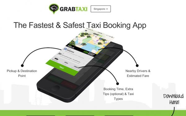 GrabTaxi:获3.5亿美元E轮 去哪儿曾参投