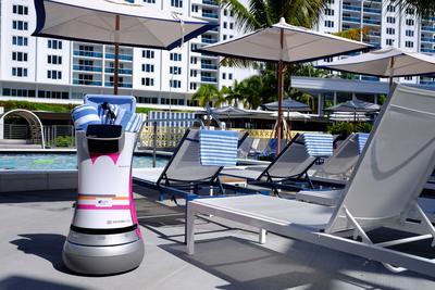 雅乐轩酒店:宣布全新Botlr服务机器人上岗