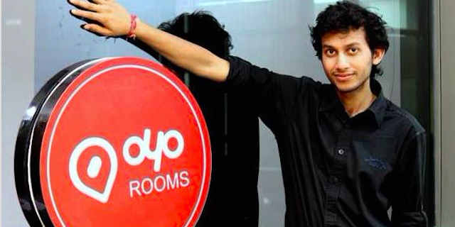 OYO Rooms:获软银领投1亿美元又一轮融资