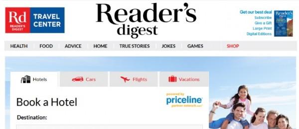 读者文摘:选择牵手Priceline 使用白标服务