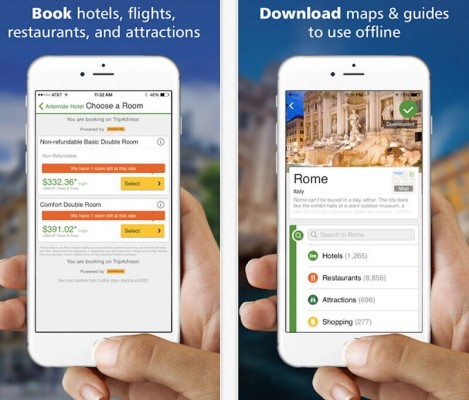 TripAdvisor:推终极指南App 挑战Expedia