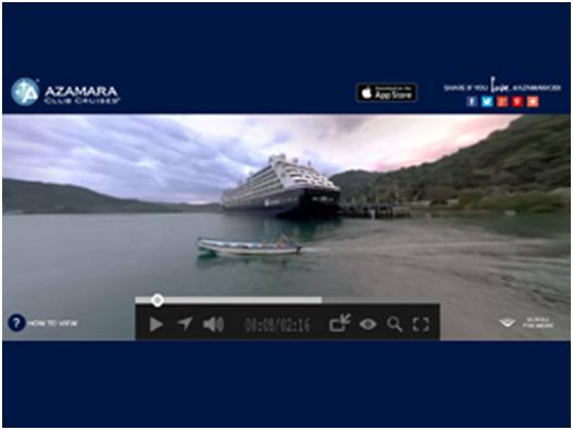 晶钻会:邮轮俱乐部 推出360度VR视频App