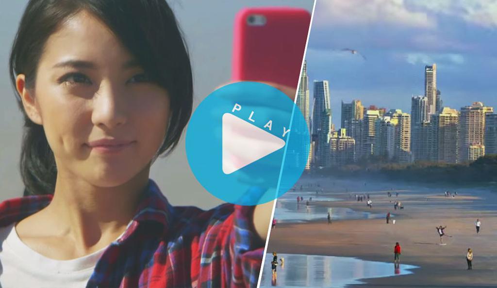 澳旅局:玩转营销 为日本游客造最长自拍杆