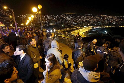 智利:8.3级地震 发海啸预警 旅游业受重挫