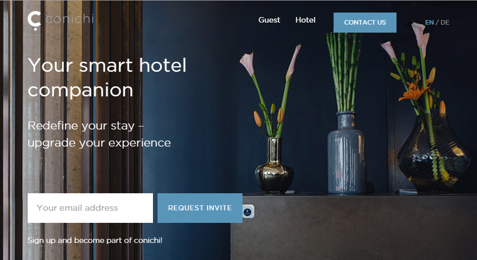 Conichi:基于beacon的酒店App获HRS融资