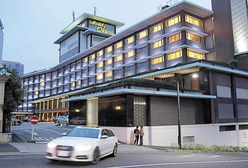 日本:地标性建筑东京大仓酒店 为奥运拆卸