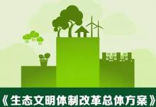 一张图:读懂国务院生态文明体制改革总体方案