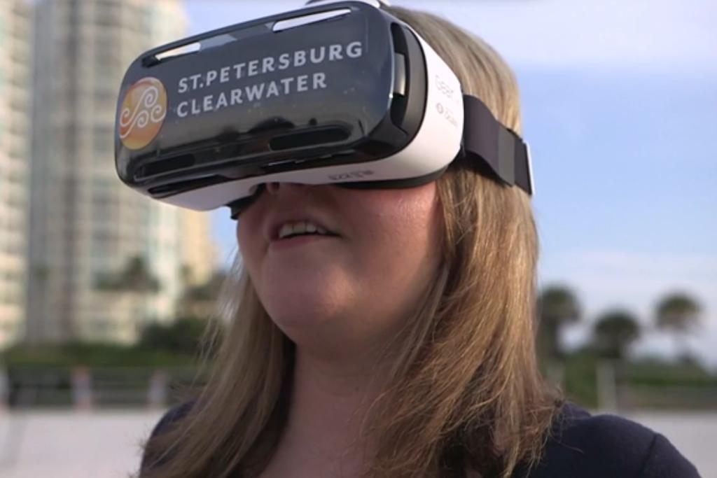 头盔:在虚拟现实影片中 实现目的地沉浸感